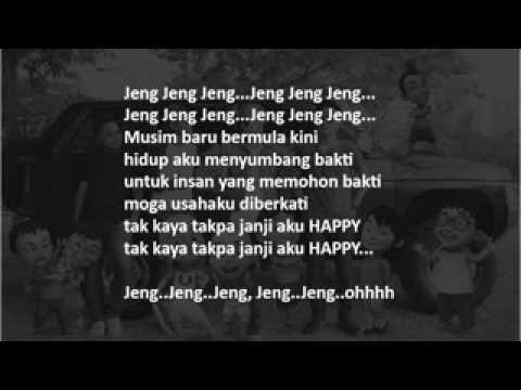 Lirik Lagu Upin Ipin (JENGJENG)