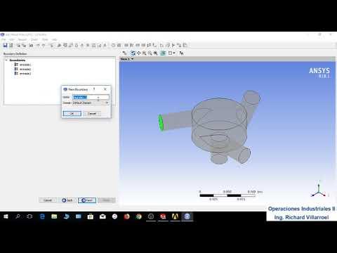 Simulación 3 de Fluidos en ANSYS y SolidWorks, mezclador y bomba centrifuga