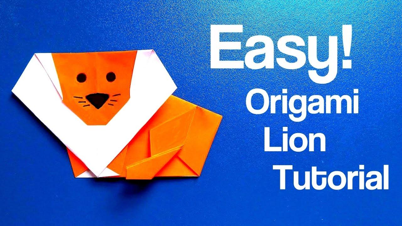 Origami Lion Easy Tutorial