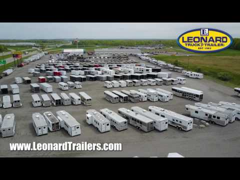 Trailers For Sale At Leonard Truck & Trailer In North Jackson, Ohio.