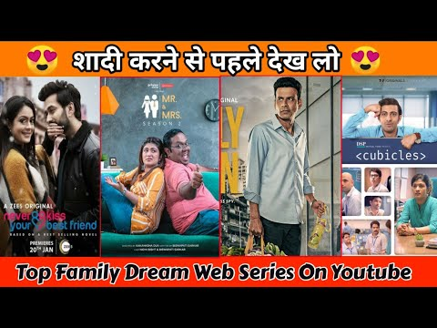 Top 5 Best Indian Family Dream Web Series Available Noe Youtube   Filmytalks   Must Watch  