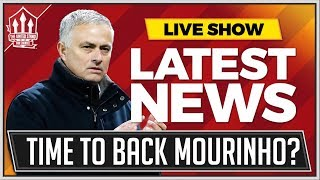 MOURINHO IN or MOURINHO OUT Now? Man Utd News Now
