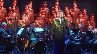 Red Army Choir: MVD. Director and Conductor ; Viktor ELISEEV in Ashdod- Israel. Jan. 2017