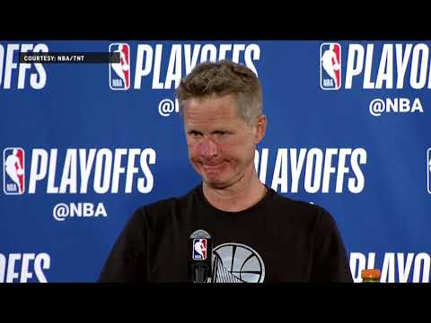 Steve Kerr Press Conference following Game 5 | Warriors Eliminate Spurs
