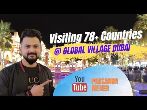 VISITING 78+ COUNTRIES !!! Global Village Dubai 2020 UAE (Season 25)