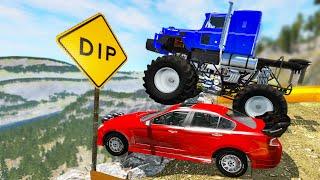 Large vs Little Wheels #14 - Beamng drive