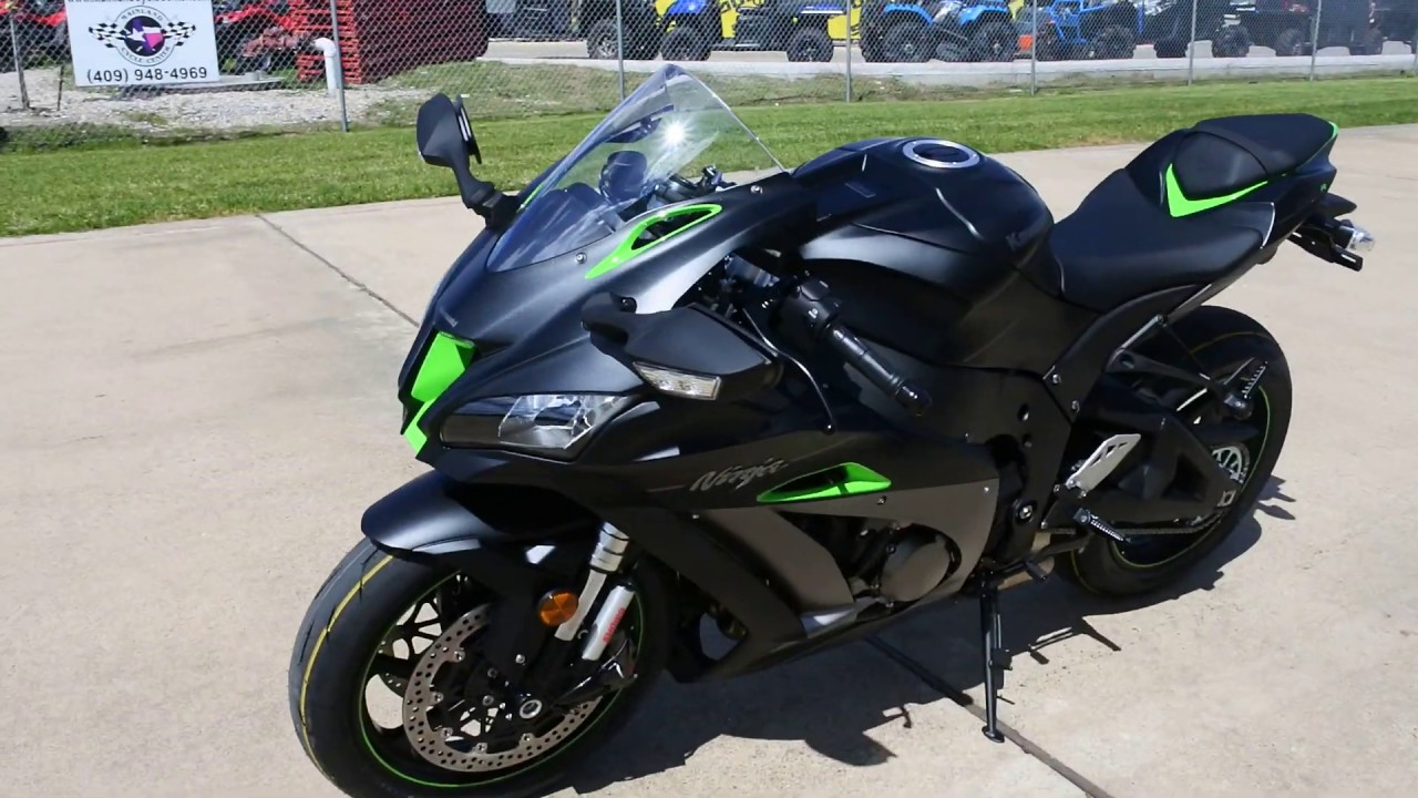 SALE $17,999: 2018 Kawasaki ZX10R Special Edition with Electronic Suspension
