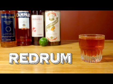 Redrum - an Original Rum Cocktail Inspired by The Shining