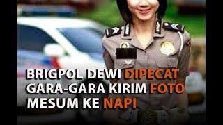 Brigpol Dewi Dipecat Gara gara Kirim Foto Mesum ke Napi
