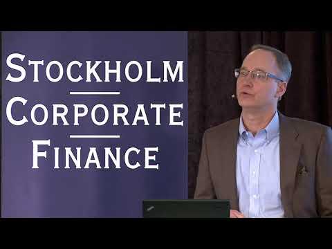 Oasmia pharmaceutical ab på Stockholm Corporate Finance Life Science seminarium 20180306