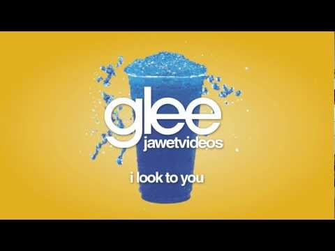 Glee Cast - I Look To You (karaoke version)