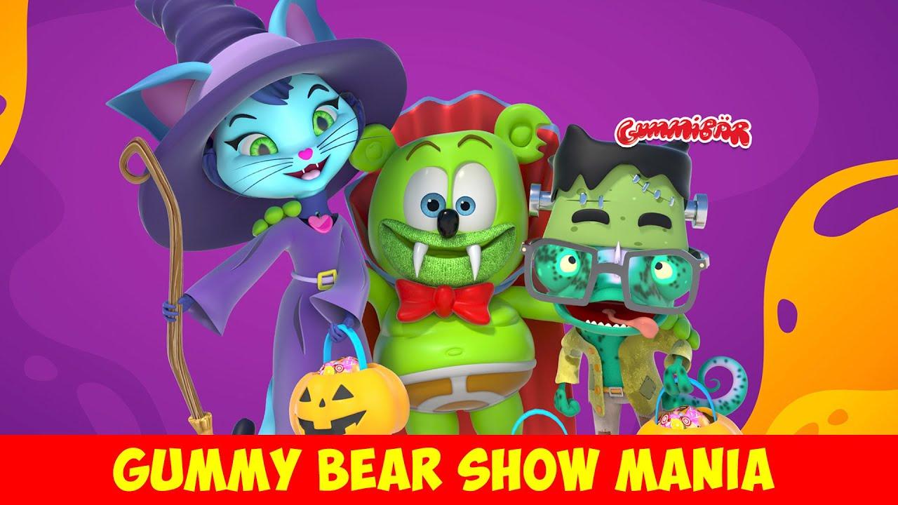 Halloween & Spooky Songs! 👻🎃 Gummibär & Friends Compilation - Gummy Bear Show MANIA