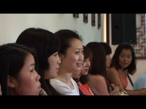 China's single women compete for love and riches
