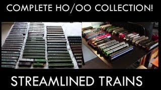 Streamlined Trains: My Complete HO/OO Collection!