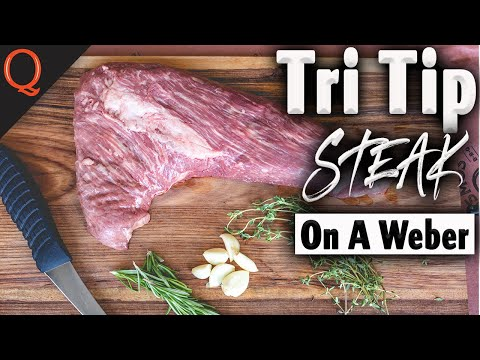 How To Grill Tri-Tip Gordon Ramsay Style On A Weber | Ft. Kosmos Q