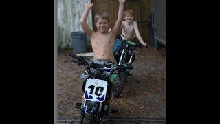 Boys getting their motorcycles Tao 110cc