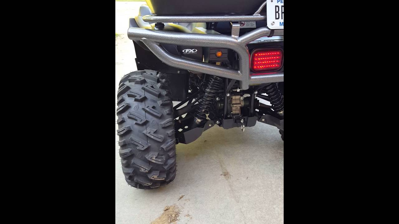 ATV Tusk turn signal kit demo