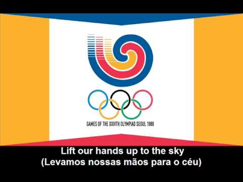 1988 Olympic Games Theme Song (Lyrics) - Hino dos Jogos Olímpicos de 1988 (letra)
