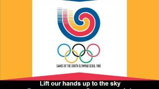 1988 Olympic Games Theme Song (Lyrics) - Hino dos Jogos Olímpicos de 1988 (letra)