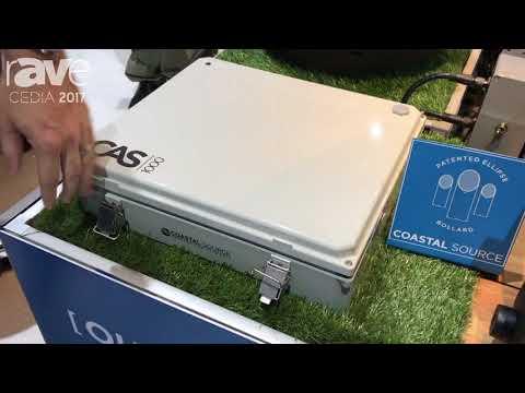 CEDIA 2017: Coastal Source Displays CAS 1000 Outdoor Amplifier