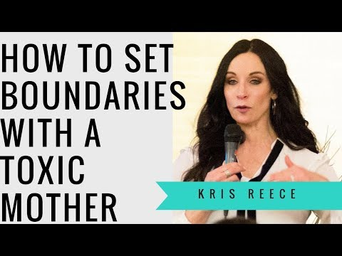 How to Set Boundries with a Toxic Mother-...