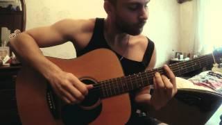Русская народная Катюша на гитаре кавер -- Katysha played on a guitar cover -- HD
