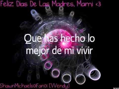 Te amo, Mama - Marco Antonio Solis [Letra/ Lyrics (Mothers Day Special)