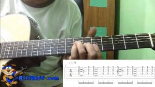 How to Play Two Steps Behind on Guitar Def Leppard