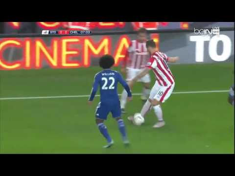Stoke City Vs Chelsea - Full Match - First Half 2015-10-27 HD (Capital One Cup)