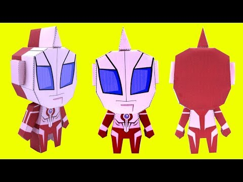 How to make Ultraman Geed papercraft