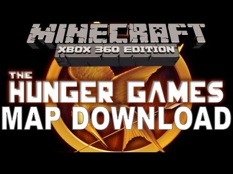 Minecraft Xbox 360 - HUNGER GAMES MAP DOWNLOAD LINK!