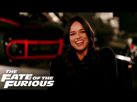 Michelle Rodriguez Interview: The Fate of the Furious
