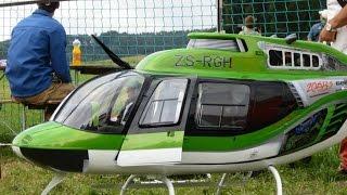 Espectaculares Turbinas Modelo Helicóptero a Control remoto Bell Jet Ranger 206 B3