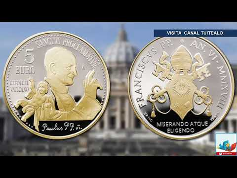 Vaticano Emite Rara Moneda De 5 Euros