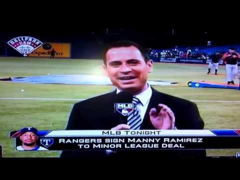 Manny Ramirez signs w/ Texas Rangers