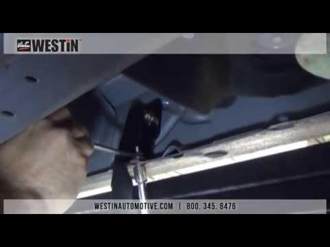 Installation Of Westin Hdx Running Board On 2014 Chevy
