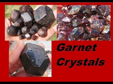 How to find Garnet Crystals