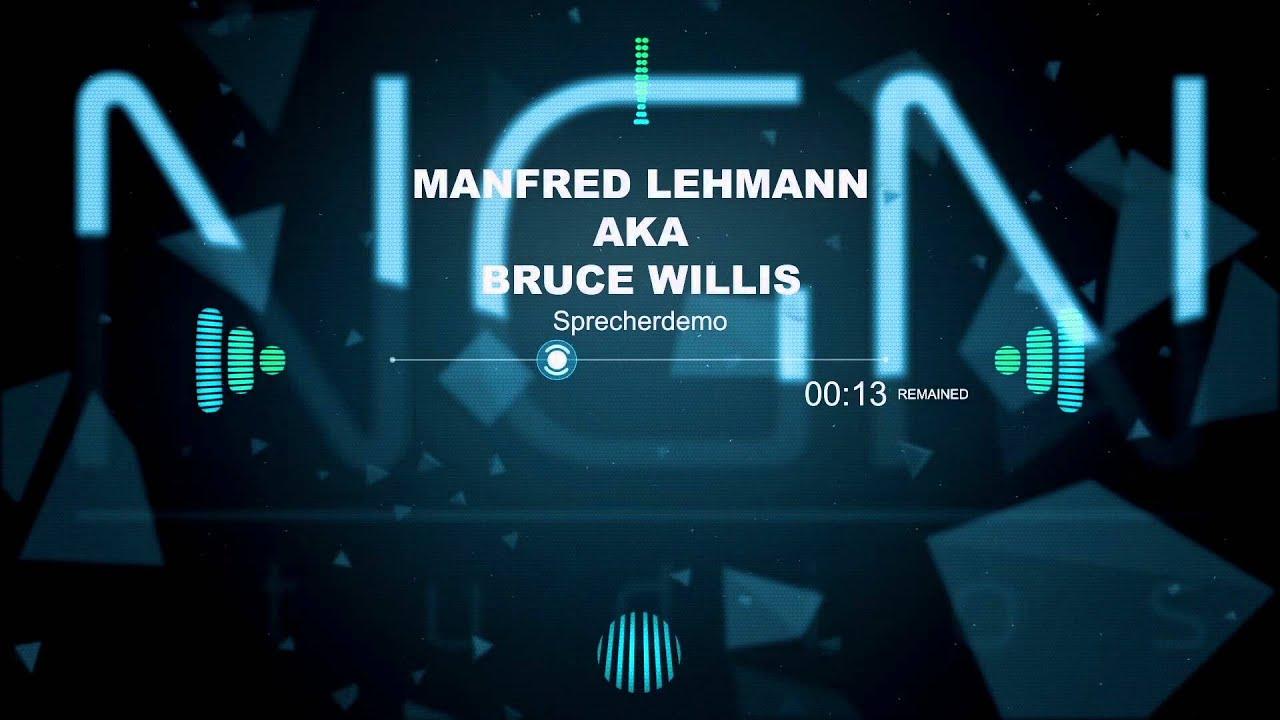 ngn studios sprecherdemo manfred lehmann (bruce willis