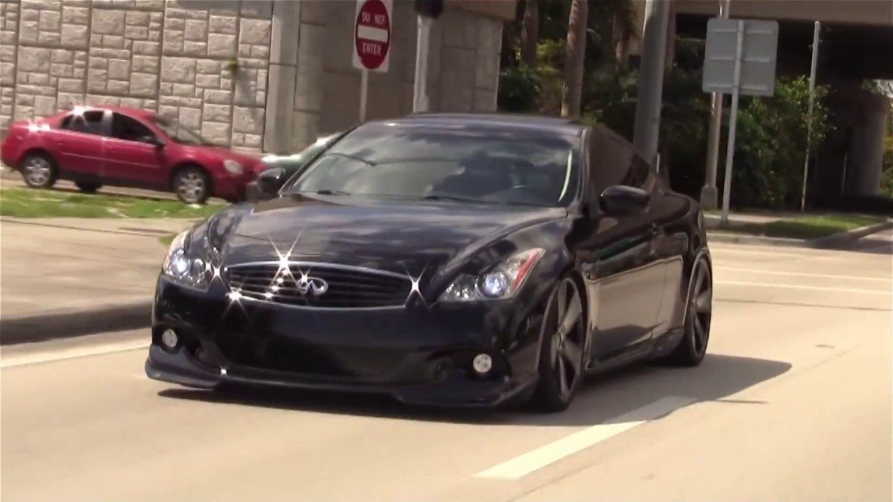 My Infiniti G37S Coupe Modified - YouTube