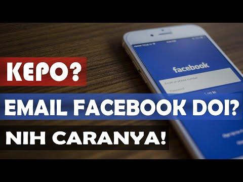 Cara mengetahui email Facebook dengan mudah.