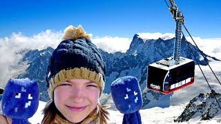 Майнкрафт видео для девочек - Приключения Спрутов в горах