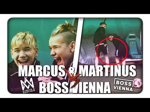MARCUS & MARTINUS vs BOSS VIENNA 😍😂 | BOSS VIENNA