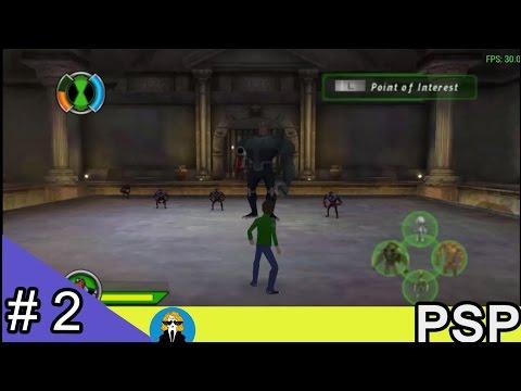 Ben 10 Ultimate Alien: Cosmic Destruction PSP - เวียนหัวจังว้าาาา #2