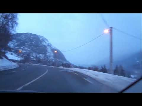 Driving from Barcelona to Andorra Feb 2017
