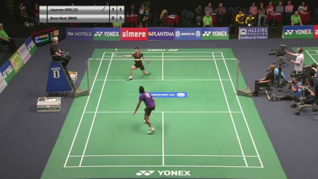 Ajay Jayaram vs Goh Soon Huat MS SF Yonex Dutch Open 2015