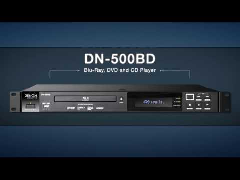 Denon Professional DN-500BD Video Blu-Ray, DVD and CD Player with USB Input