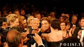 POlist.TV / Xavier Dolan standing ovation Mommy Cannes 2014