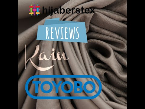 Bahan Kain TOYOBO Fodu Best Quality Cotton Fabrics