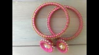 #diy Jhumke Waali Bangles #handmade