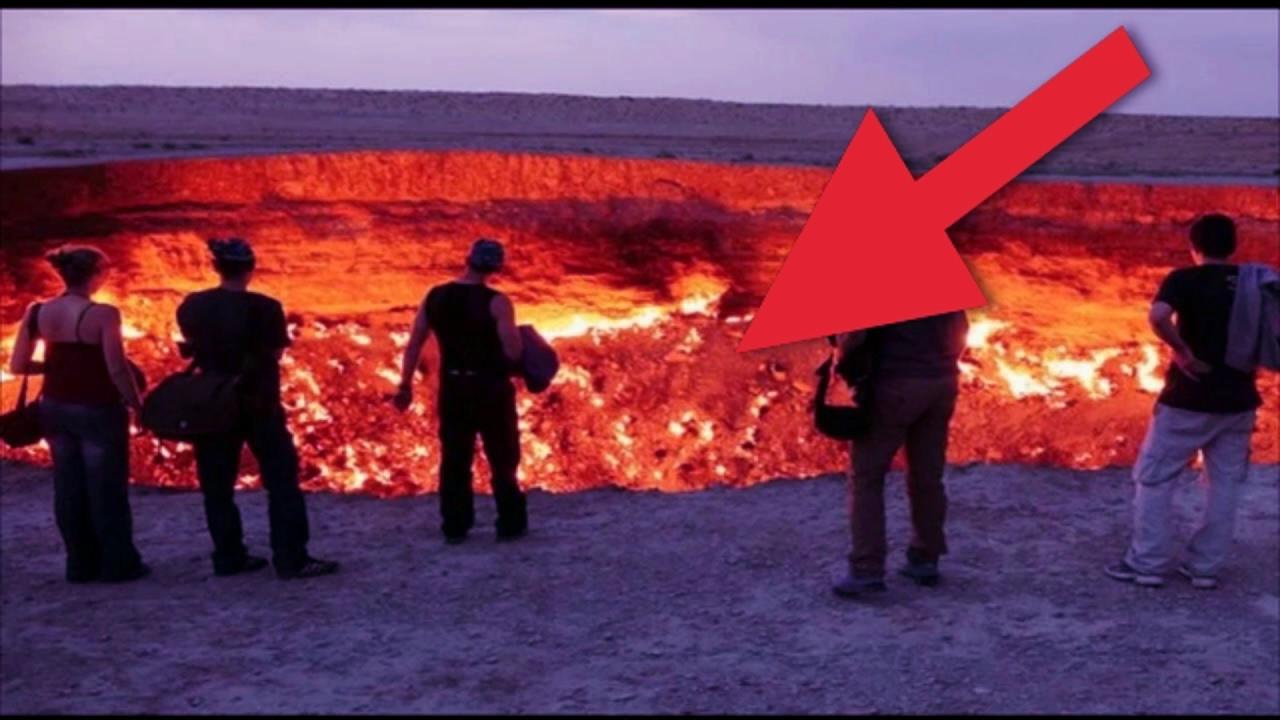 El misterioso agujero que aparece en china la puerta al for 9 puertas del infierno